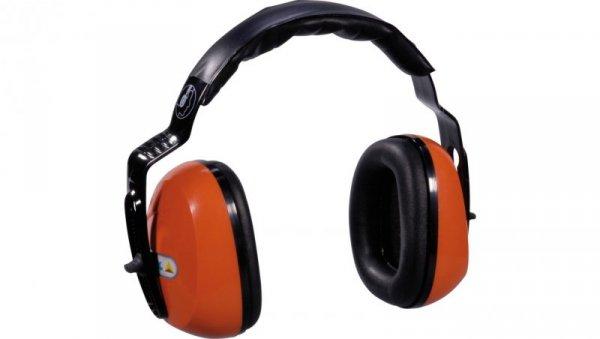 Nauszniki ochronne przeciwhałasowe pomarańczowo-czarne SNR 29dB SEPA2OR