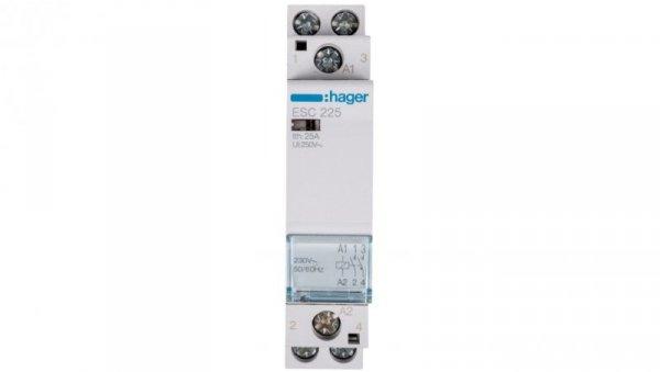 Stycznik modułowy 25A 2Z 0R 230V AC ESC225