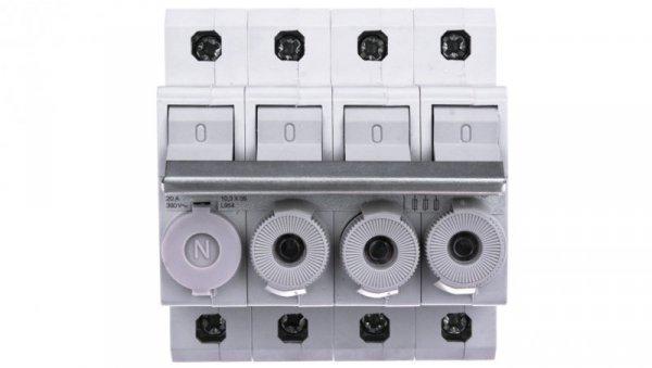 Rozłącznik bezpiecznikowy cylindryczny 4P 10x38mm L95400