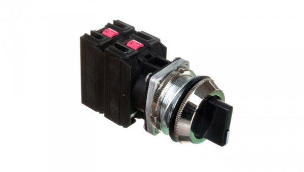 Przycisk sterowniczy pokrętny I-0-II niestabilny czarny 2Z/2R W0-NEF30-TPE 2X2Y S