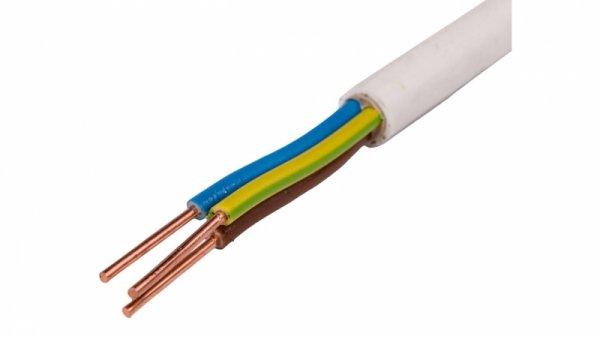 Przewód instalacyjny YDY 3x2,5 żo biały 450/750V /bębnowy/