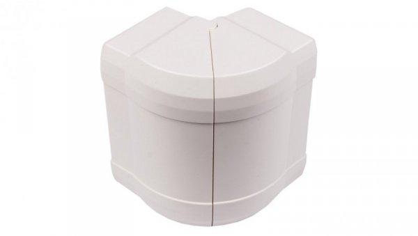 Kąt zewnętrzny reulowany 130x70mm 85-95 stopni BRN 70130 biały G12129010