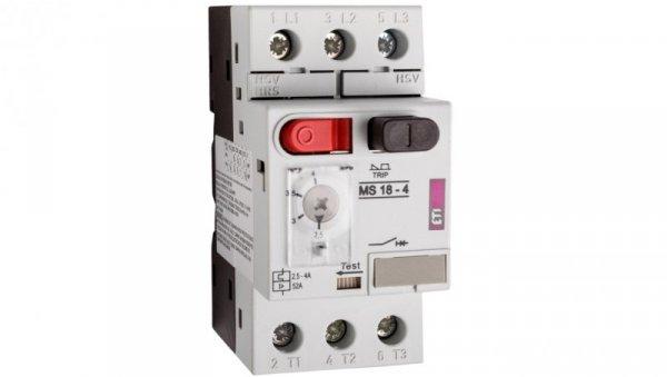 Wyłącznik silnikowy 3P 1,5kW 2,5-4A MS18 004600347