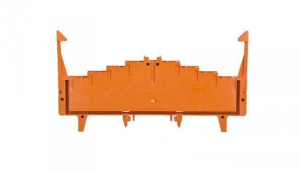 Złączka potencjałowa 4-piętrowa z zatrzaskami pomarańczowa 727-225/023-000 /50szt./