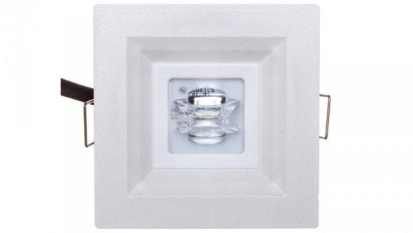 Oprawa awaryjna LOVATO P LED 3W 350lm (opt. koryt.) 3h jednozadaniowa AT biała LVPC/3W/B/3/SE/AT/WH