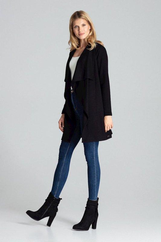 Sweter Kardigan Model M682 Black - Figl