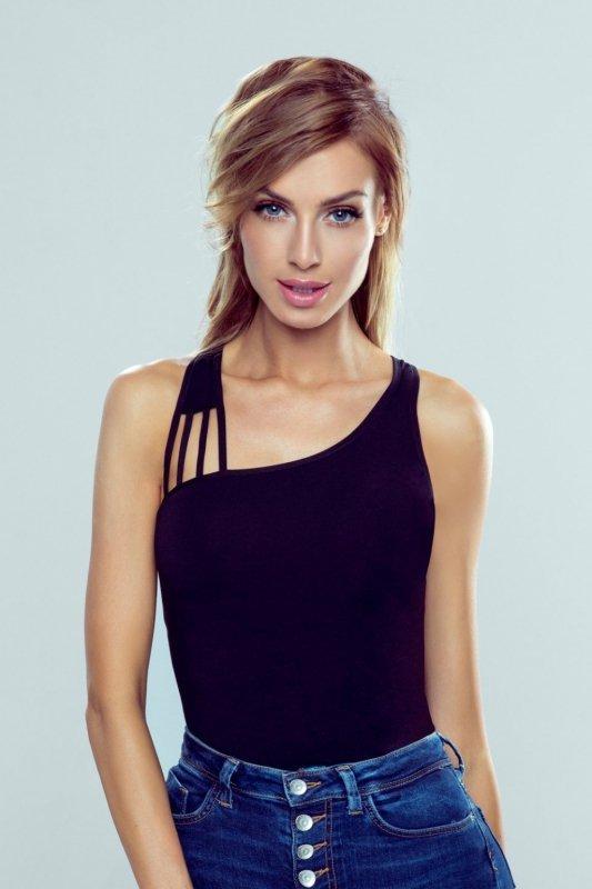 Bluzka Model Iman New Black - Eldar