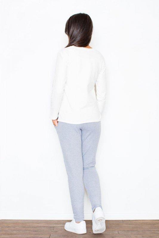 Spodnie Damskie Model 305 Grey - Figl