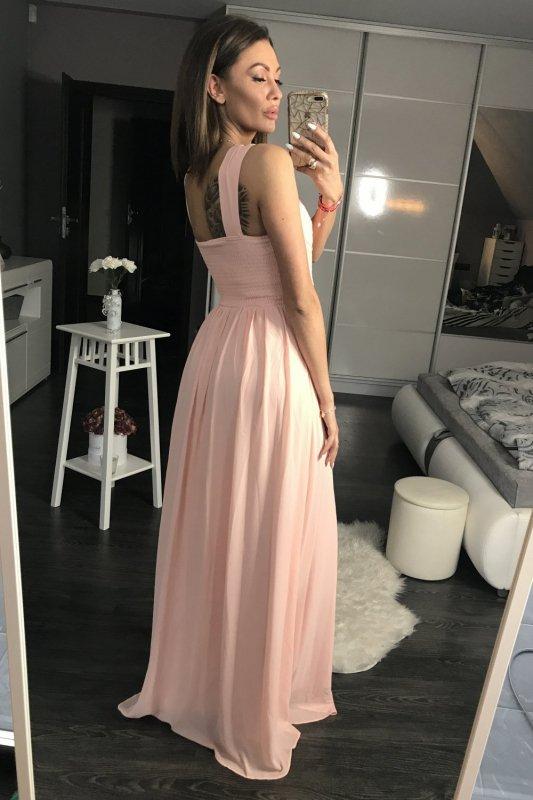 Sukienka Wieczorowa Model 17770 Powder Pink - YourNewStyle