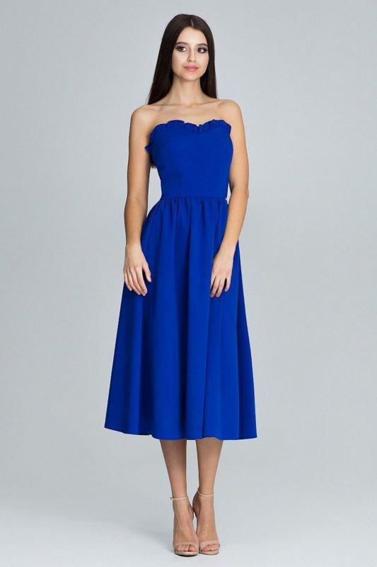 Sukienka Model M602 Blue - Figl
