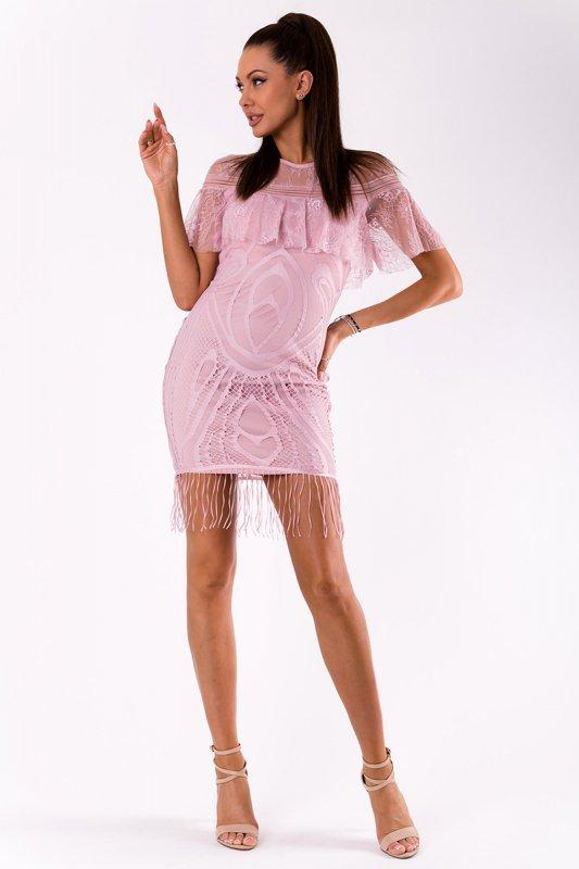 Sukienka Model 18030 Light Pink - YourNewStyle