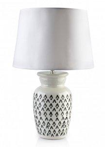 LORA WHITE Lampa 14x14xh51cm