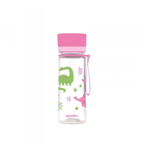 Butelka AVEO KIDS - różowa - 0,35L / Aladdin