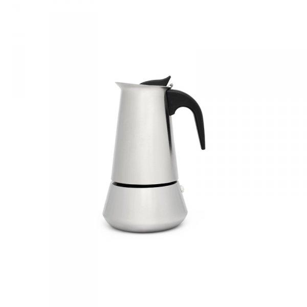 Kawiarka włoska Trevi 6 cups - stal matowa / Leopold Vienna