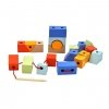 Przeplatanka Kolorowe Klocki Kształty - Classic World