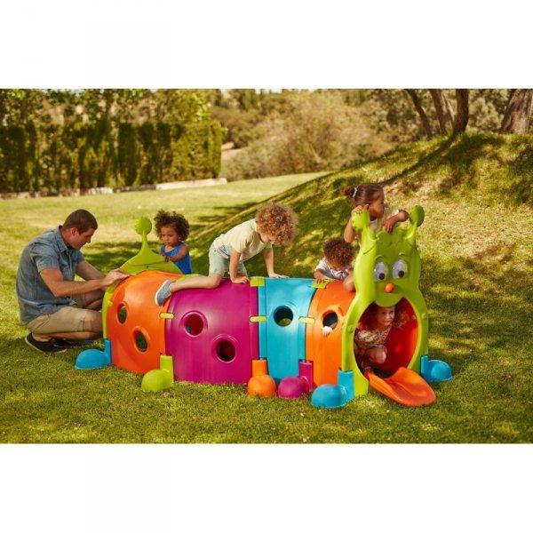 Feber Modułowy Tunel Zabawowy Gąsienica Plac Zabaw