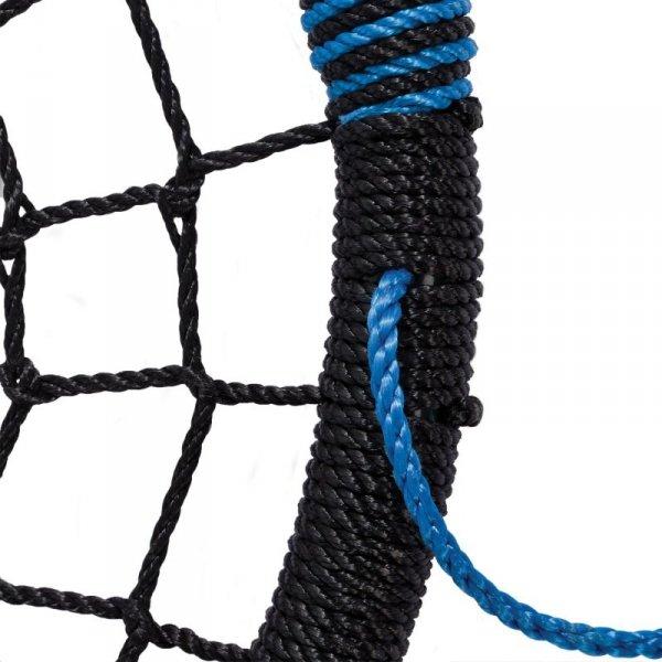 Huśtawka Bocianie Gniazdo Oval Niebieska do 150kg