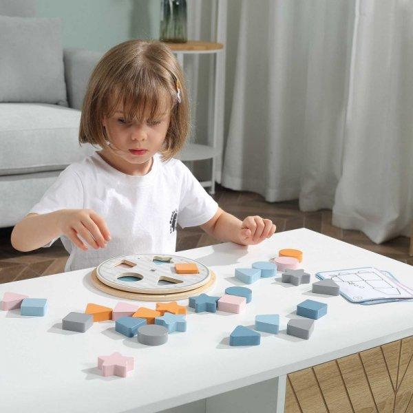Układanka Dopasowanie Kształtów i Kolorów - VIGA PolarB