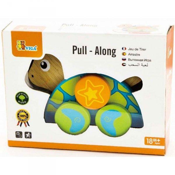 Zestaw do ciągnięcia żółwik - Viga Toys