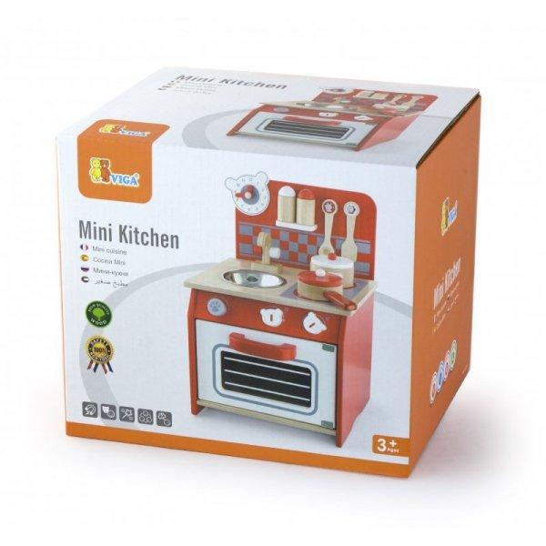 Kuchnia Drewniana dla dzieci + Akcesoria - Viga Toys