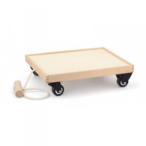 Drewniany Wózek dla dzieci do ciągnięcia - Viga Toys