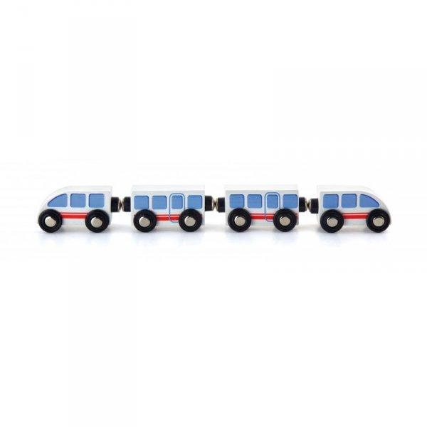 Zestaw akcesoriów do kolejki - Metro - Viga Toys