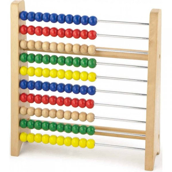 Drewniane Liczydło Abacus  - Viga Toys