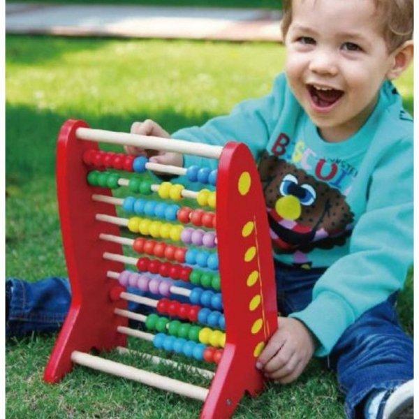 Drewniane Liczydło edukacyjne - Viga Toys