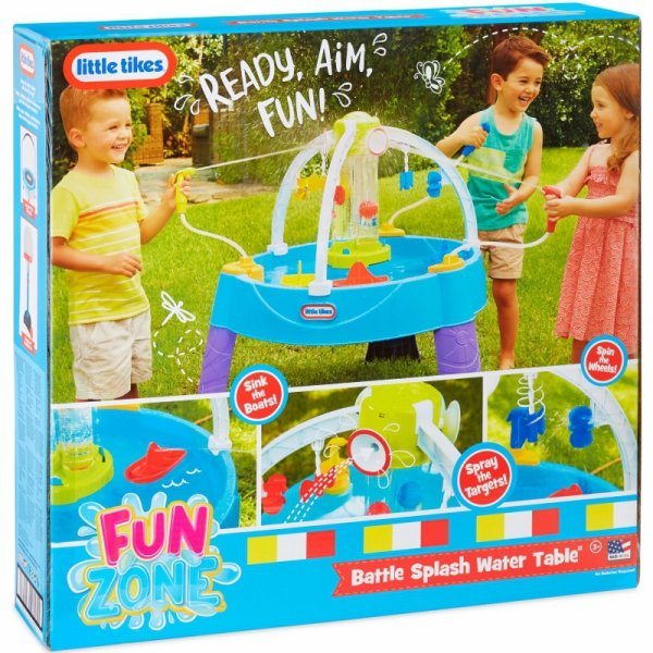 Little Tikes Stół Wodny Bitwa na wodę Fun Zone Battle Splash