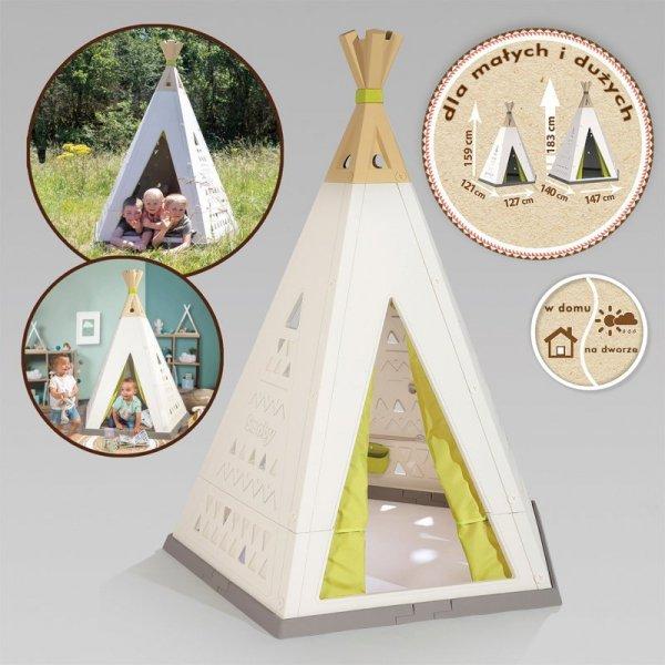 SMOBY Domek Namiot Tippi do pokoju i ogrodu