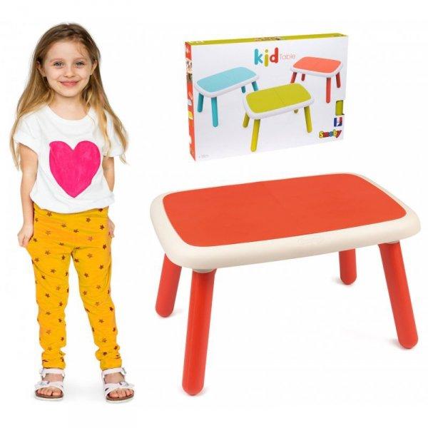 Stolik dla dzieci Smoby w kolorze czerwonym