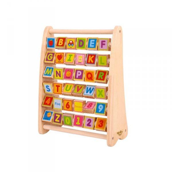 Alfabet Nauka Liter Cyfr Liczb Słów ABACUS TOOKY TOY