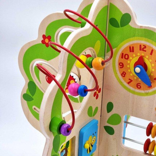 Duża Zabawka Edukacyjna Activity Tree  Wielofunkcyjne Drzewo - TOOKY TOY