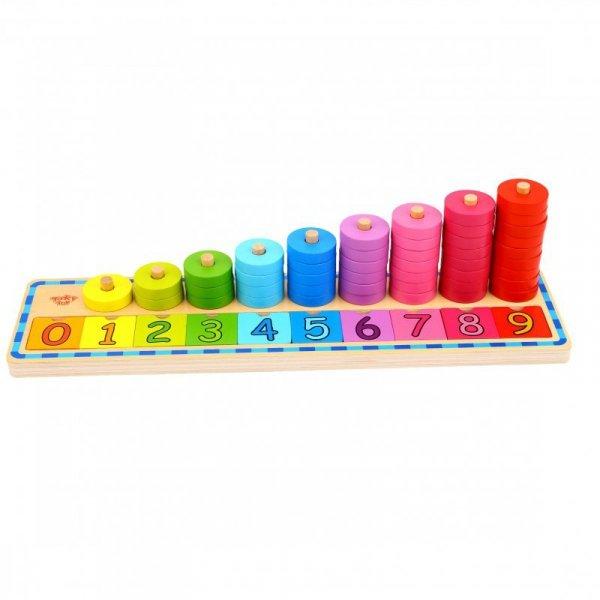 Nauka Liczenia i Kolorów Układanka - TOOKY TOY