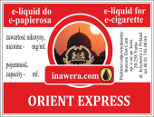 E-Liquid 10 ml - Orient Express