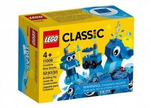 Klocki Classic 11006 Niebieskie klocki kreatywne