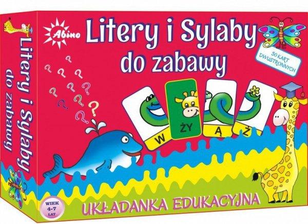 Abino Litery i Sylaby- układanka