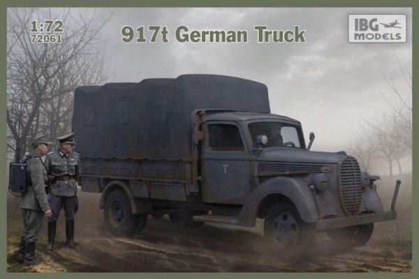 Model plastikowy 917t niemiecka ciężarówka