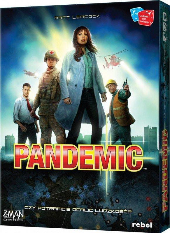 Gra Pandemic wersja polska, nowa edycja