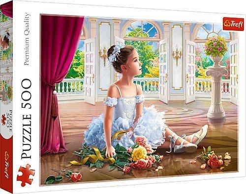 Trefl Puzzle 500 elementów - Mała Baletnica