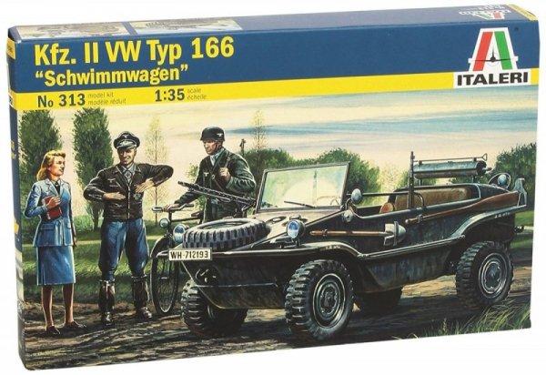 Italeri Kfz II VW Typ 166 Schwimmwagen