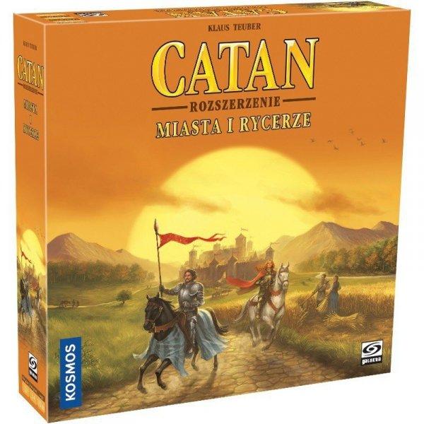 Galakta Gra Catan - Miasta i Rycerze