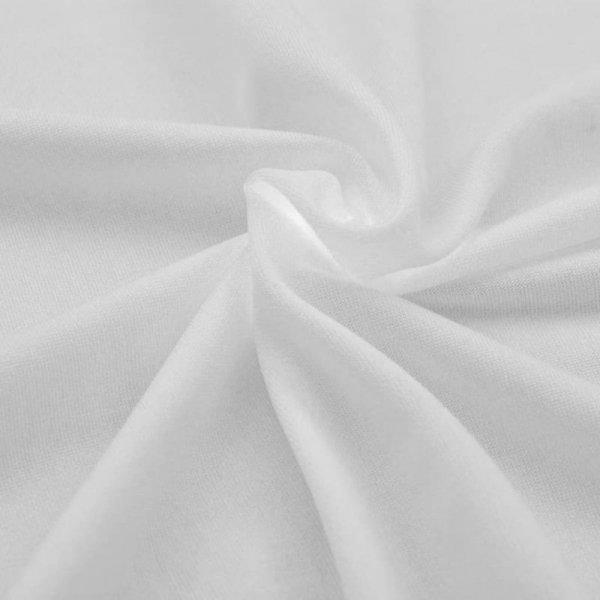 Elastyczne pokrowce na stół 183x76x74 cm, 2 szt., białe
