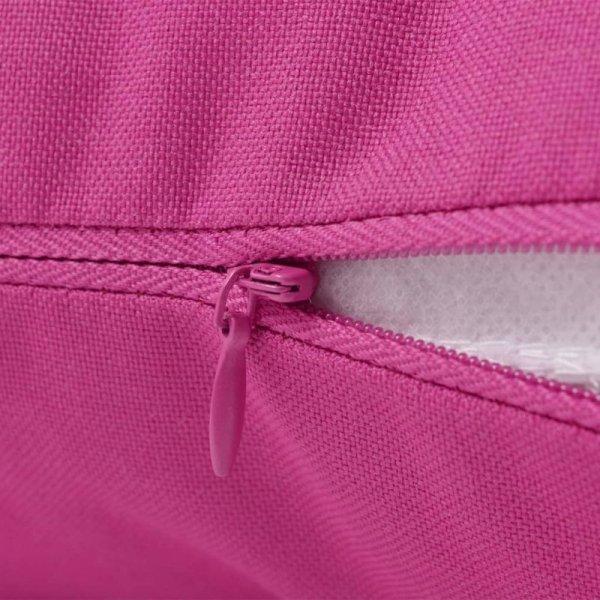 Poduszki na zewnątrz, 2 sztuki, 45x45 cm, różowe