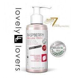 Lubrykant o smaku malinowym - Lovely Lovers Raspberry Tasty Lube 150 ml