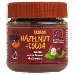 Krem orzechowo–kakaowy bezglutenowy Super Fudgio BIO, 190g