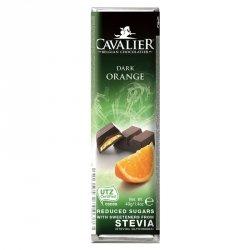 Baton z deserowej czekolady z nadzieniem pomarańczowym Cavalier, 40g