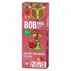 Bob Snail jabłko-truskawka, 30g