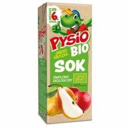 Sok jabłko-gruszka PYSIO BIO, 200ml