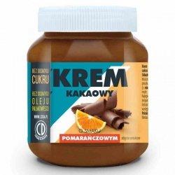 Krem kakaowy o smaku pomarańczowym bez dodatku cukru i bez oleju palmowego CD, 350g